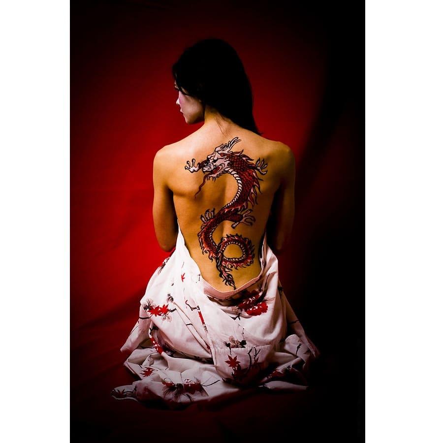 Русская рыжая с тату на животе имя 29 фотография