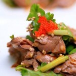 Sliced Pork Kidney with Celery