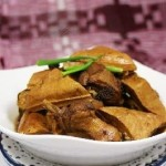Vegetarian Goose with Tofu Stew