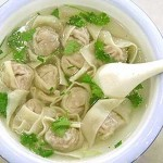 Pork and Shepherd's Purse Wontons