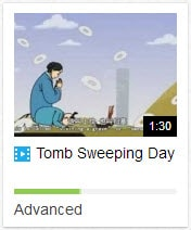 tomb sweeping day china
