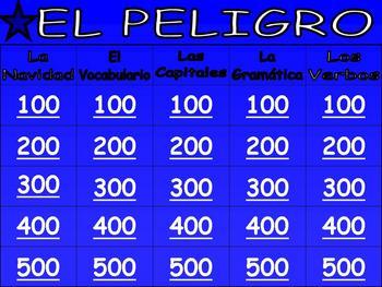 spanish grammar games