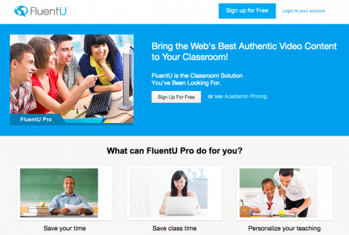informational FluentU how-to post for educators