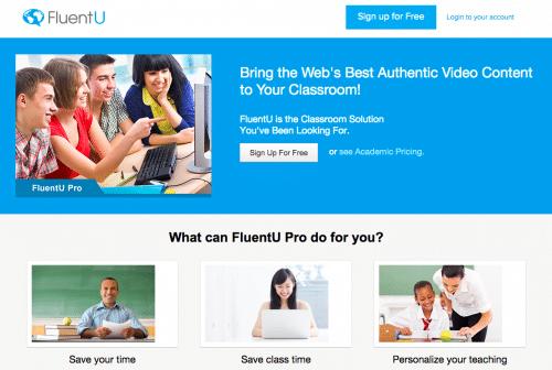 informational FluentU how-to post for educators