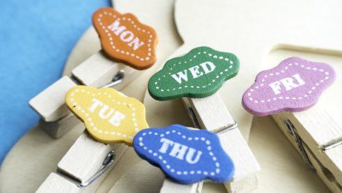 giorni-della-settimana-in-inglese