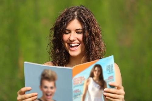 雑誌で学ぶ英語