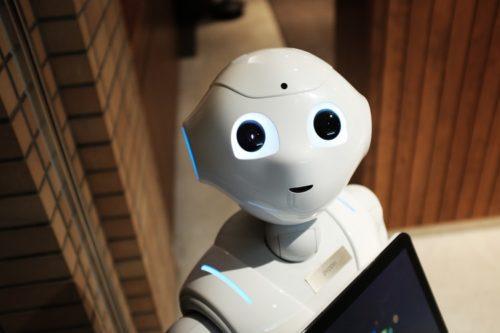 ロボットとチャット-英語学習
