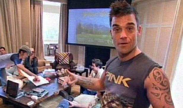 6 great tv shows to improve english listening comprehension and vocabulary MTV Cribs Robbie Williams