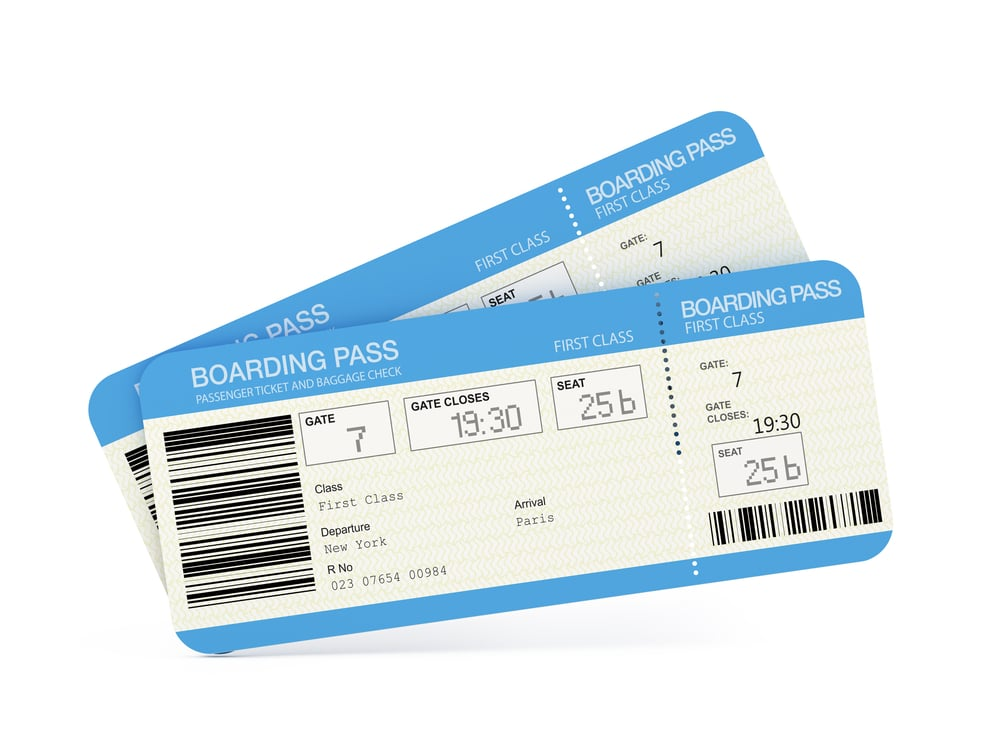 english vocabulary words airport boarding pass