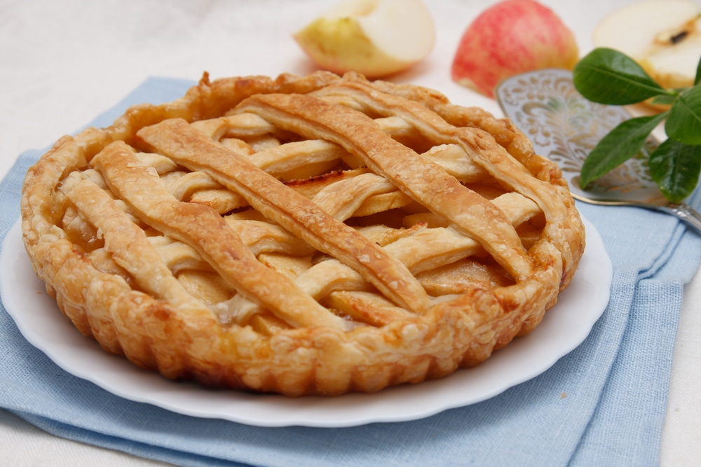 fourth july picnic english vocabulary american food apple pie