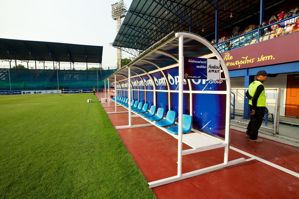 essential  vocabulary guide football soccer bench
