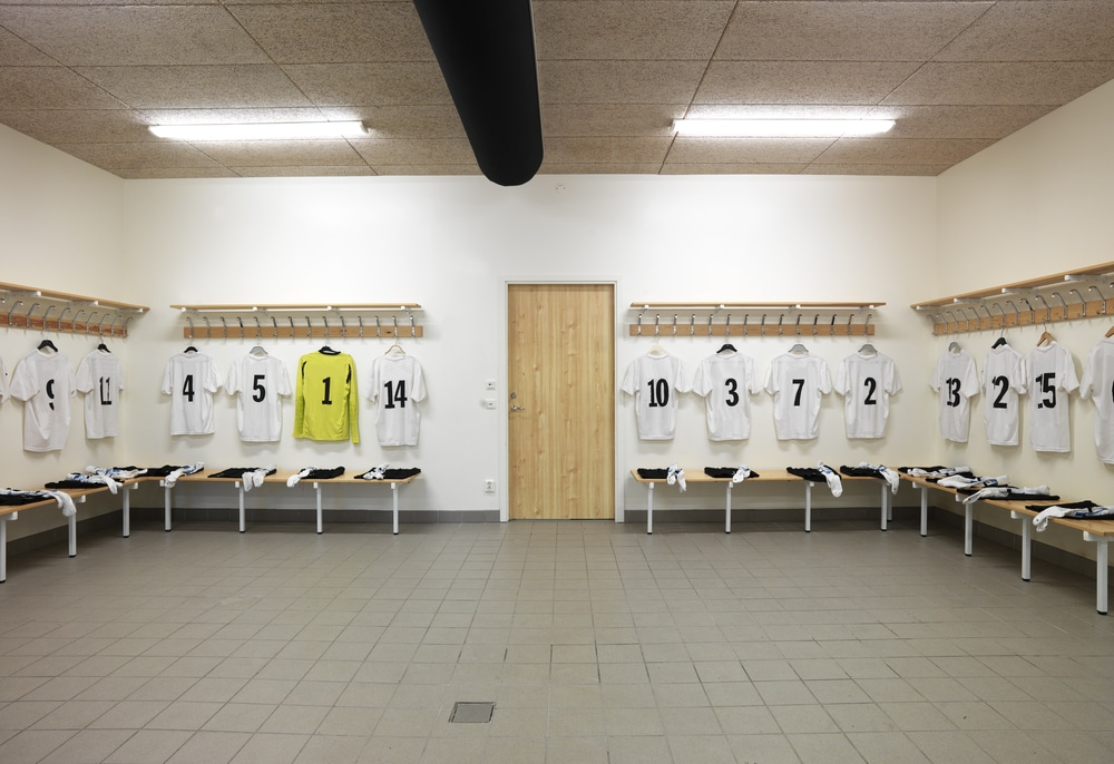 essential vocabulary guide football soccer changing room