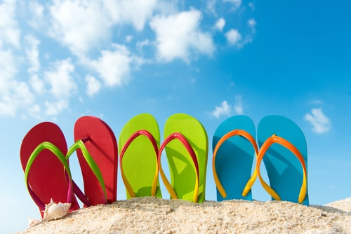 essential summer vocabulary esl flip flops