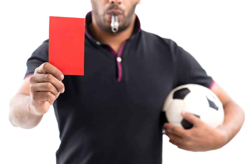 essential vocabulary guide football soccer red card