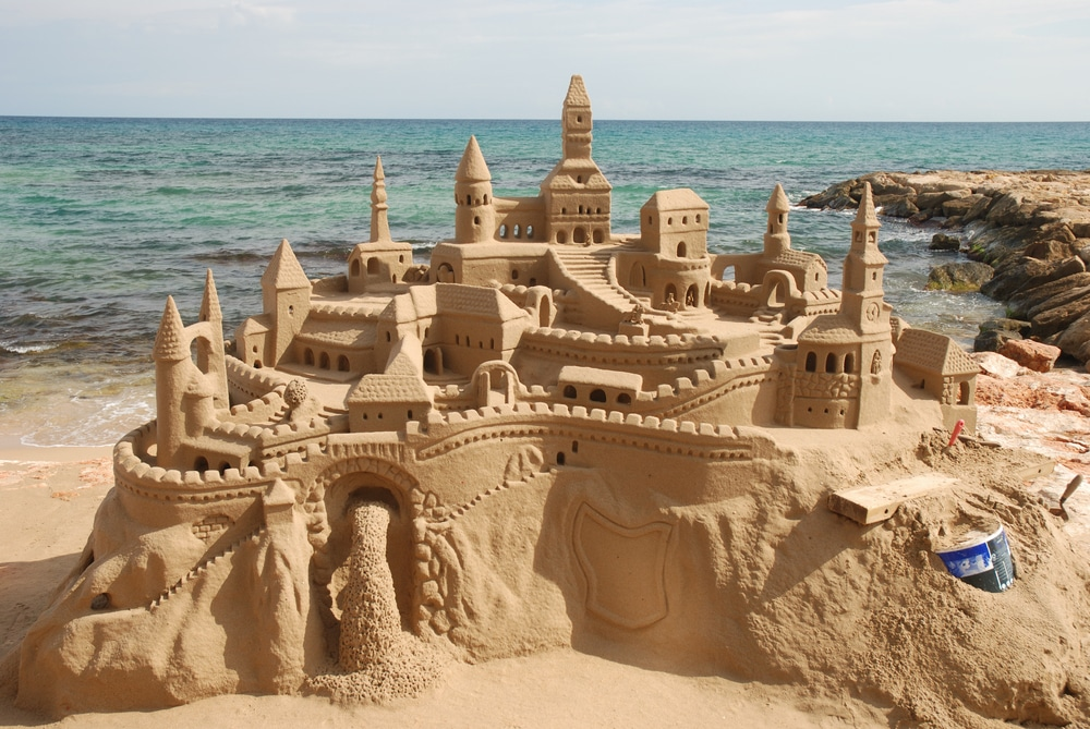 essential summer vocabulary esl sandcastle