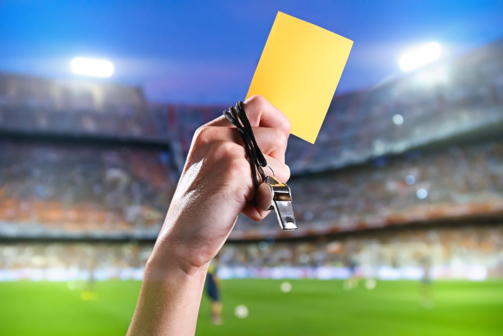 essential vocabulary guide football soccer yellow card