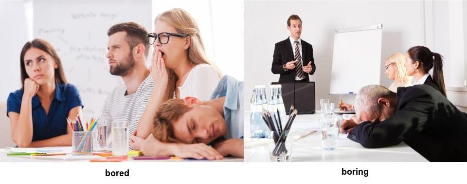 5 common feelings mix-ups for english learners bored vs boring