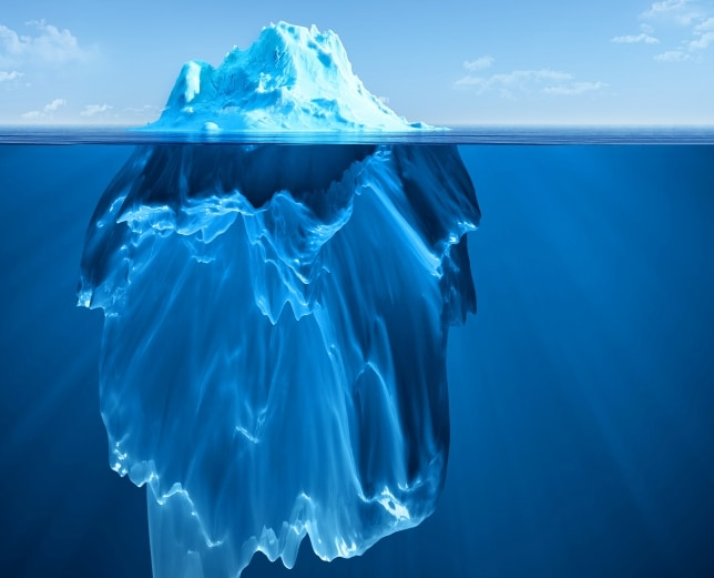 the most useful english proverbs you should learn right now  only a small amount of an iceberg can be seen above the surface of the water most of it lies below this proverb uses the iceberg to describe a situation