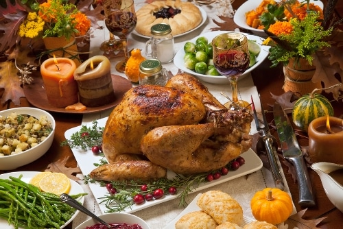 Thanksgiving List Of Foods