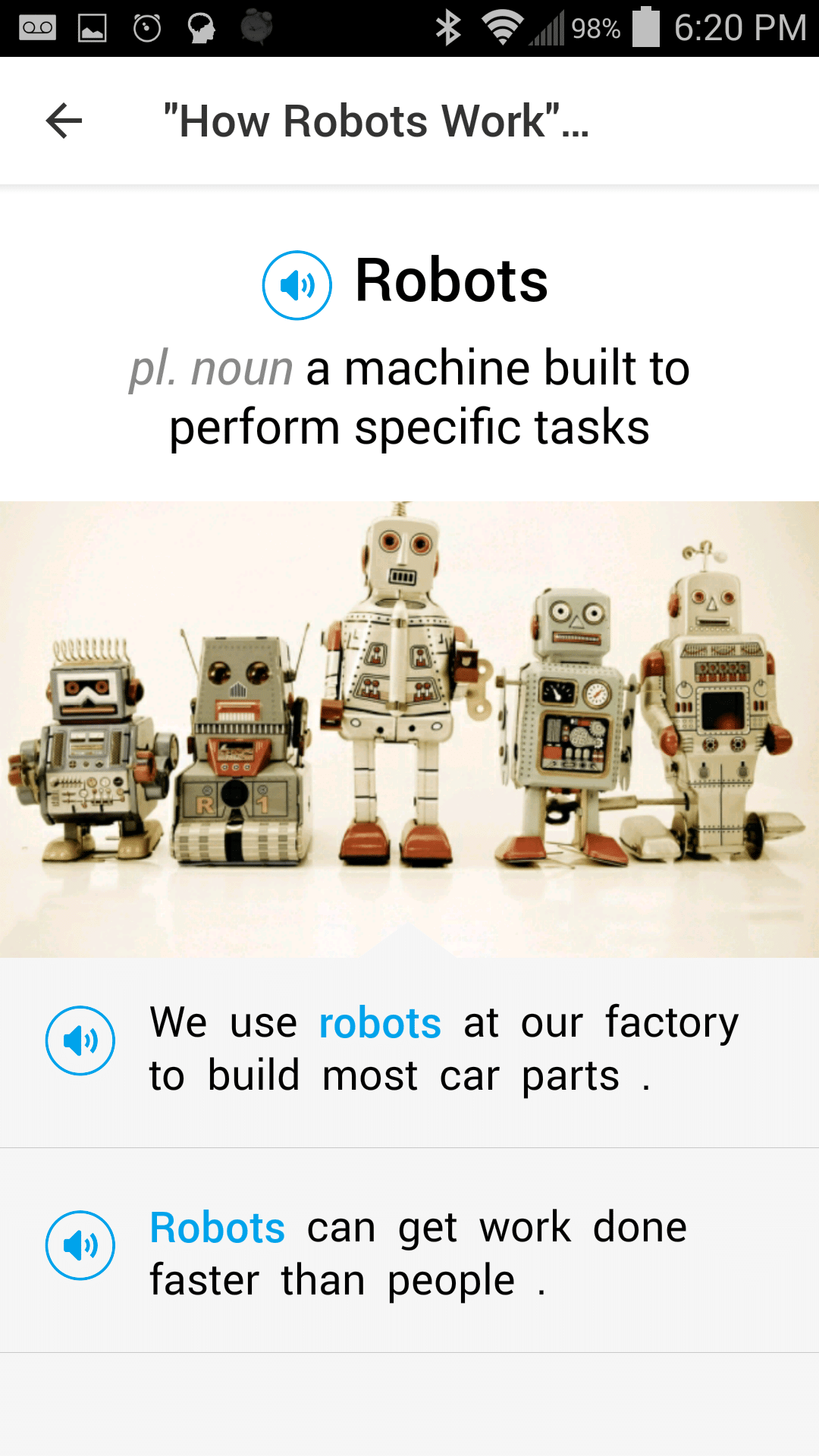 english vocabulary android app