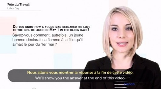 Learn French on YouTube