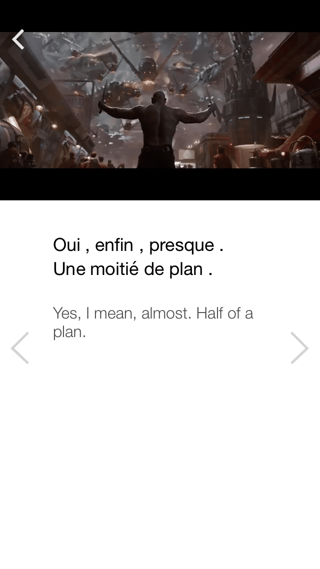 Learn French with FluentU