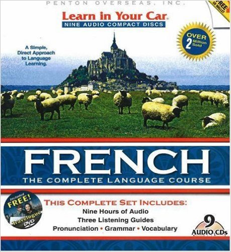 french audio cd course learn in your car