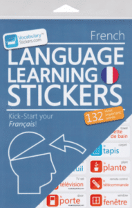 French Vocabulary Stickers