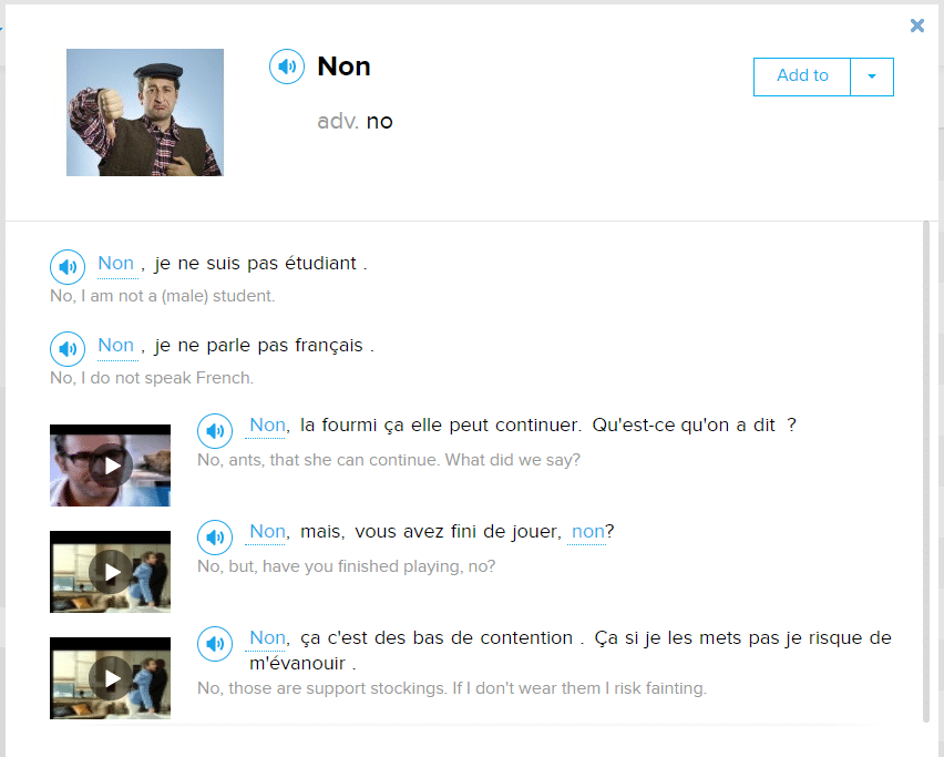 No Way How To Turn Down Negate And Deny In French