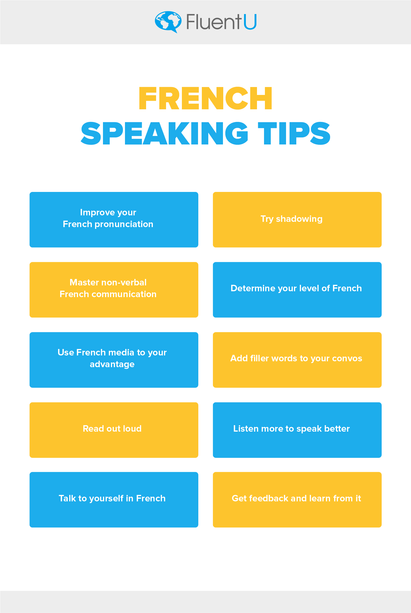 how to speak french