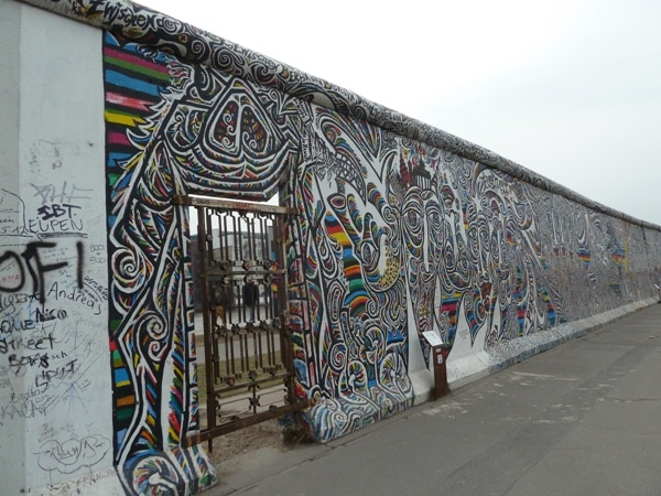 20 places germany draft Berlin Wall