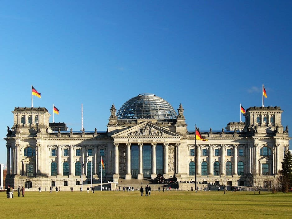 20 places germany draft german parliament