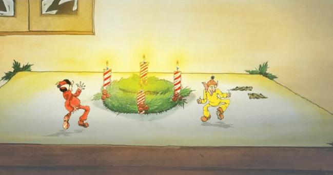 german christmas cartoons