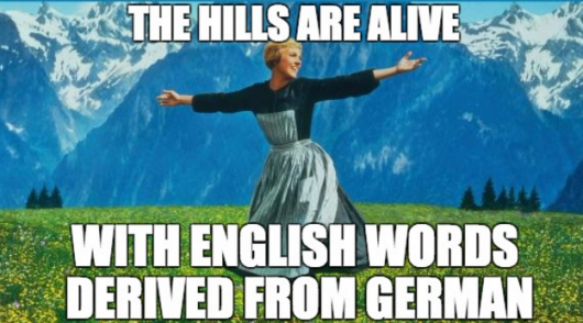 english-words-derived-from-german