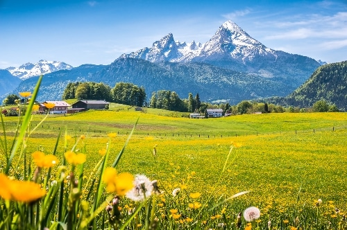 german poems about spring