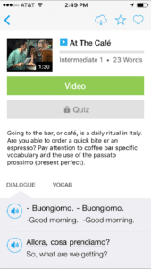 learn italian with fluentu