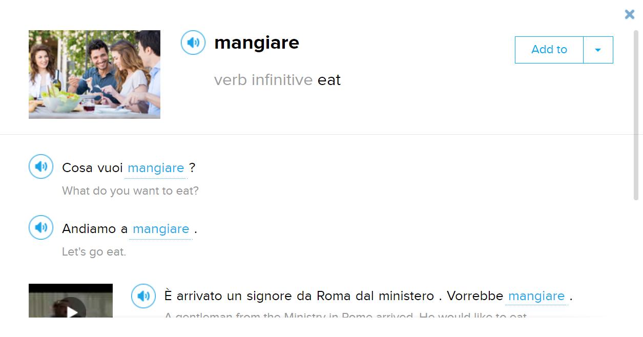 italian text