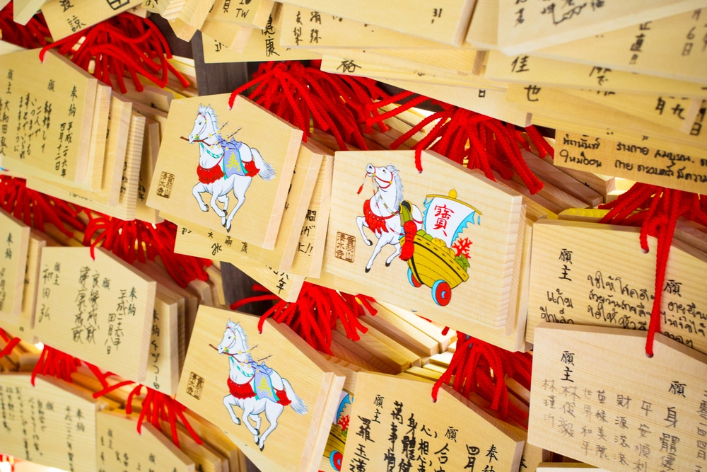 5 tokens japanese fortune telling