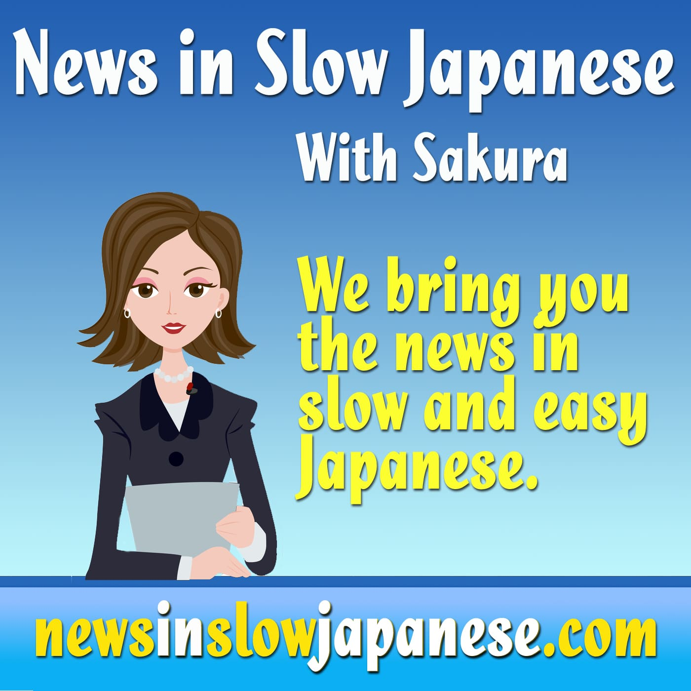 learn japanese with the news