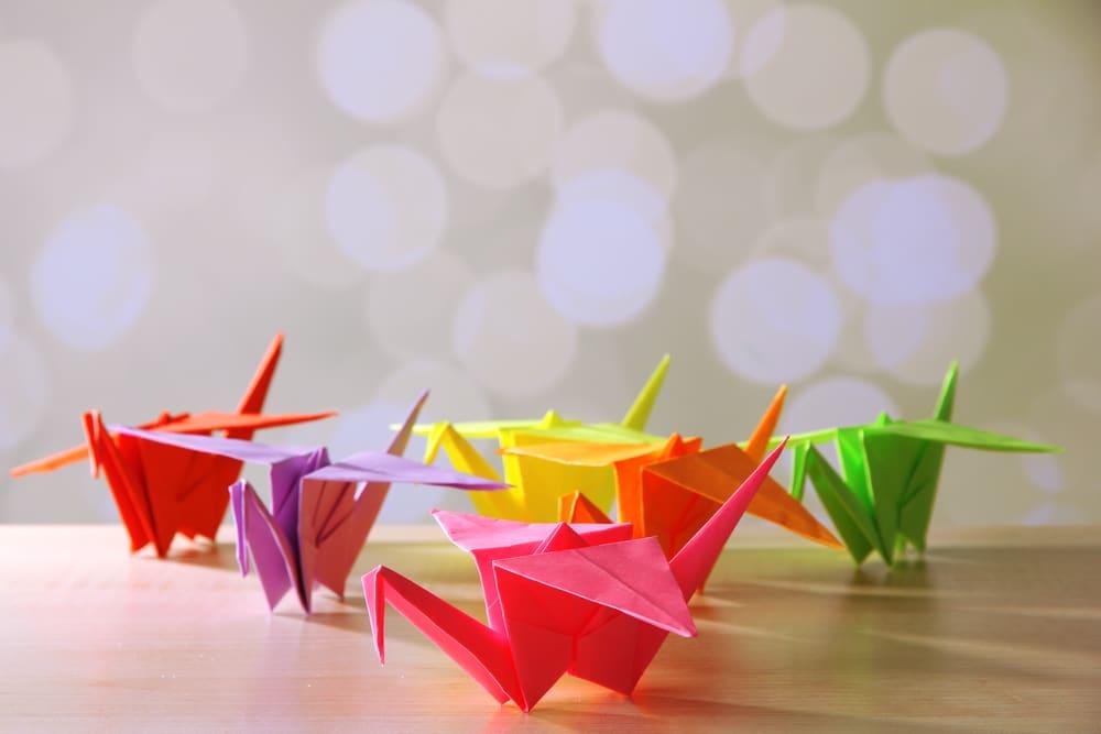 origami-cranes
