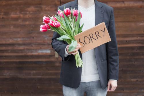 sorry in korean