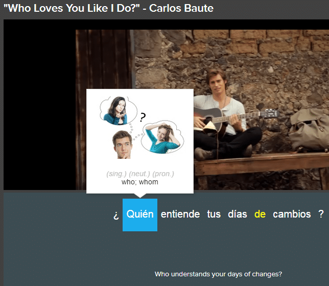 Carlos Baute - Available on FluentU