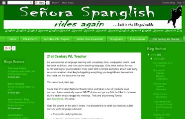 12 awesome spanish teacher blogs