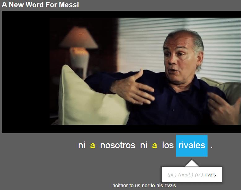 spanish vocabulary words football soccer