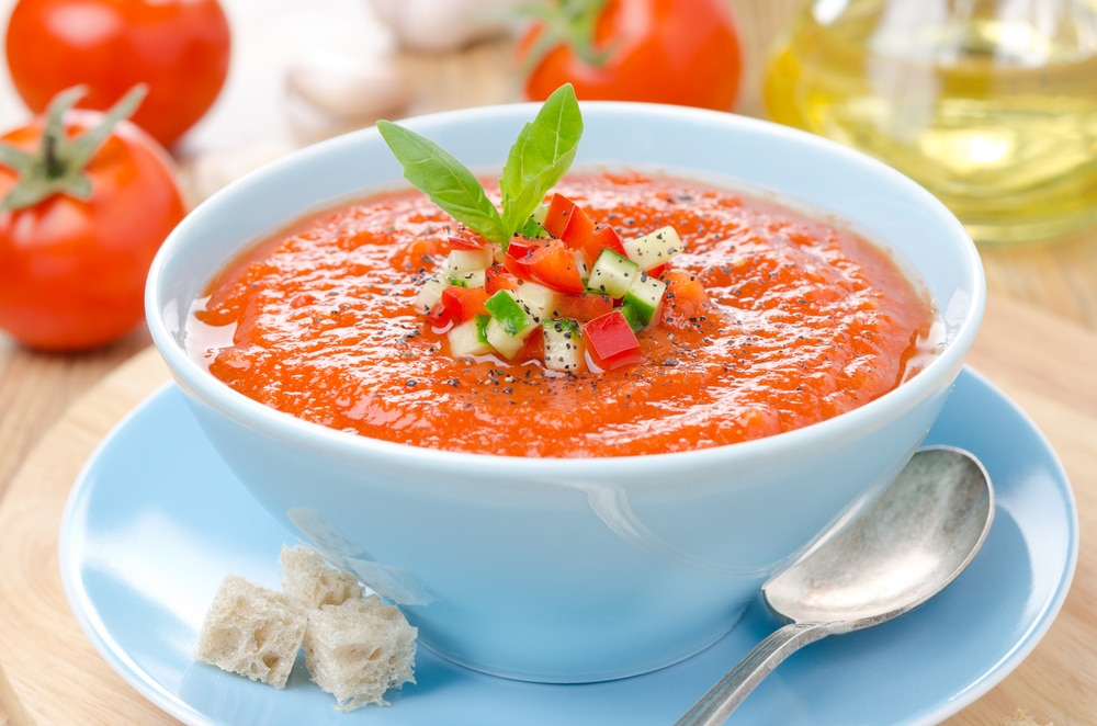 spanish restaurant vocabulary 89 words phrases Gazpacho