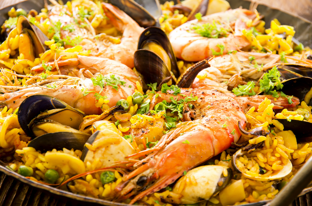 spanish restaurant vocabulary 89 words phrases Paella