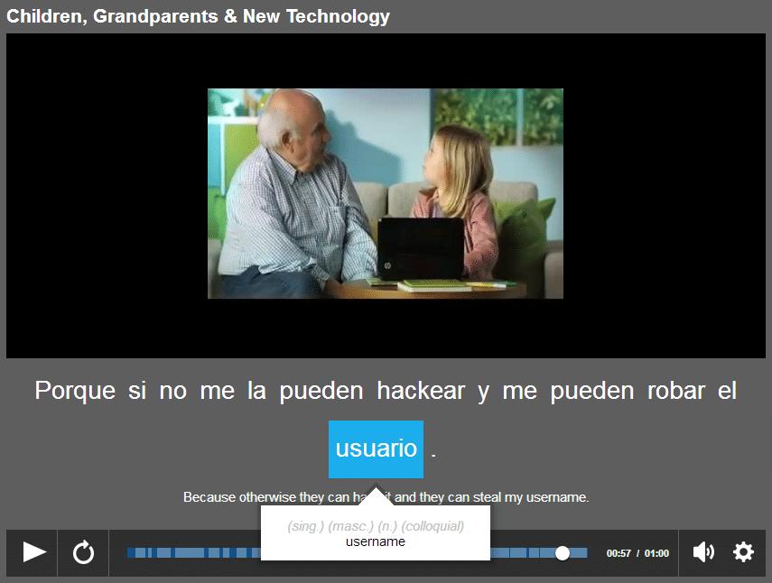 spanish blog online language exchange partner