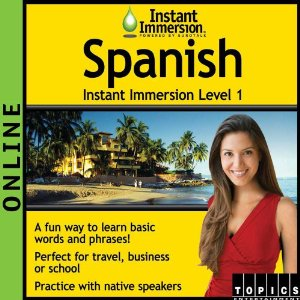 spanish immersion software