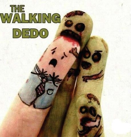 walking dedo