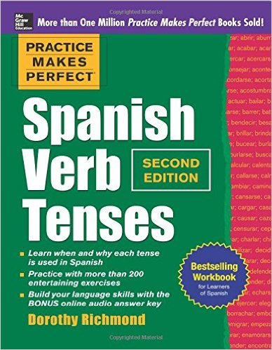 How can I learn to conjugate verbs and learn their meanings in Spanish?
